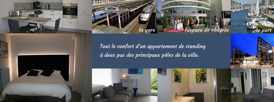 location appartement 2 personnes saint brieuc cotes d. Black Bedroom Furniture Sets. Home Design Ideas